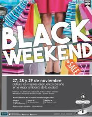 La gran via centro comercial te invita a sus descuentos BLACK weekend 2015