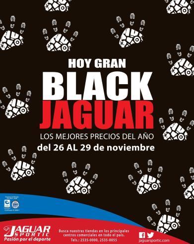 Tienda deportiva JAguar Sportic con ofertas black friday - 26nov15