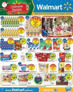 WALMART promociones PACK de compras con precios super bajos - 20nov15