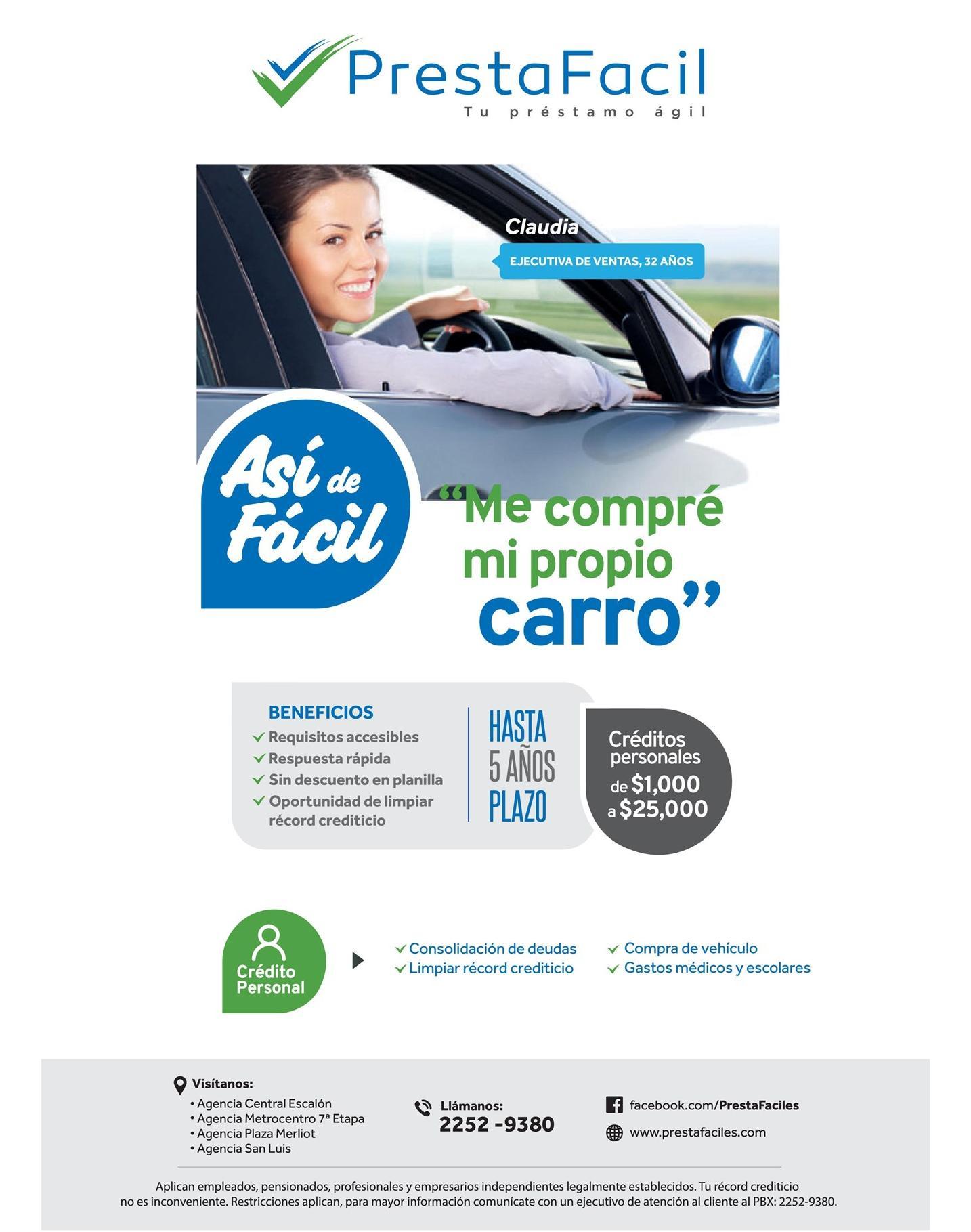 Compra tu nuevo carro propio con prestamos de dinero facil for Compra de comedores nuevos