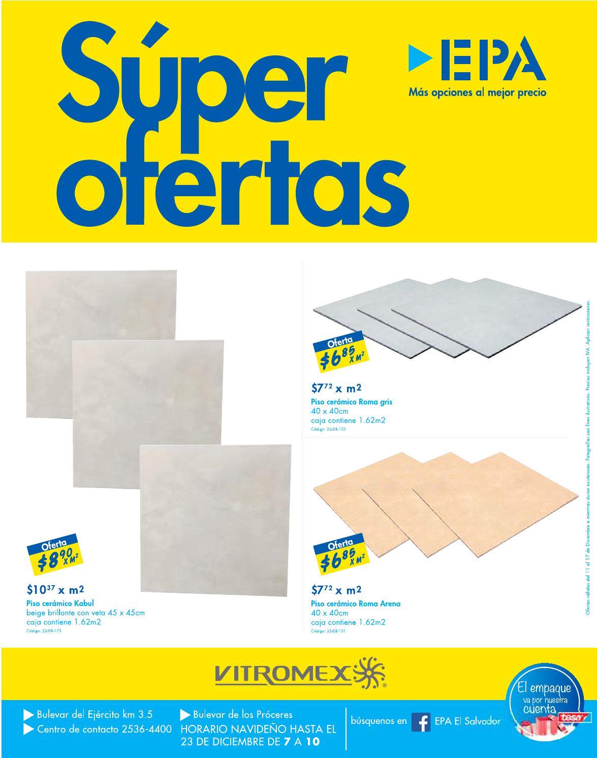 Ofertas ferreteria epa en pisos ceramicos vitromex for Pisos ceramicos en oferta