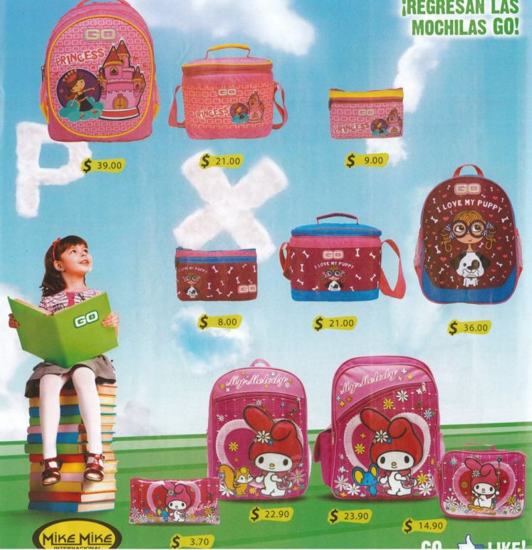 Princess backpack and all accesories