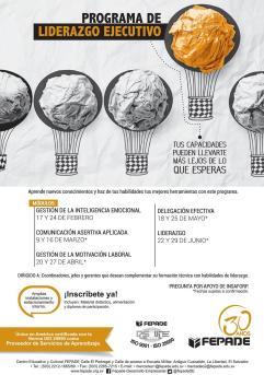 Programa de LIDERAZGO EJECUTIVO seminario mas diplomado