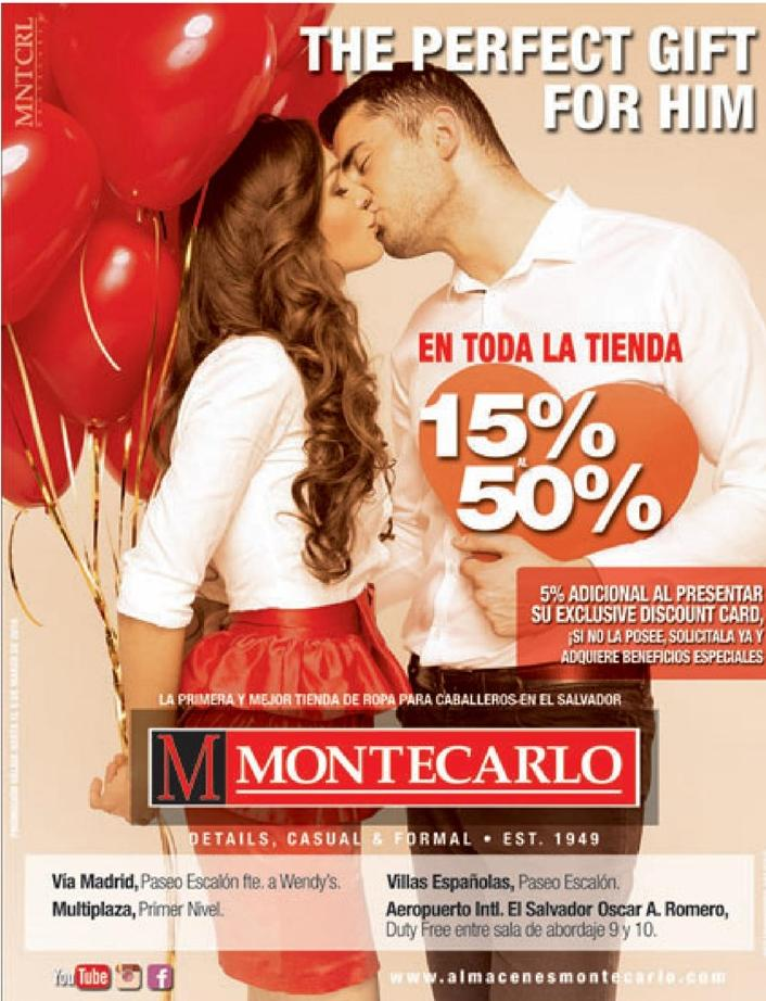The perfect GIFT for him SAN VALENTINE 2016