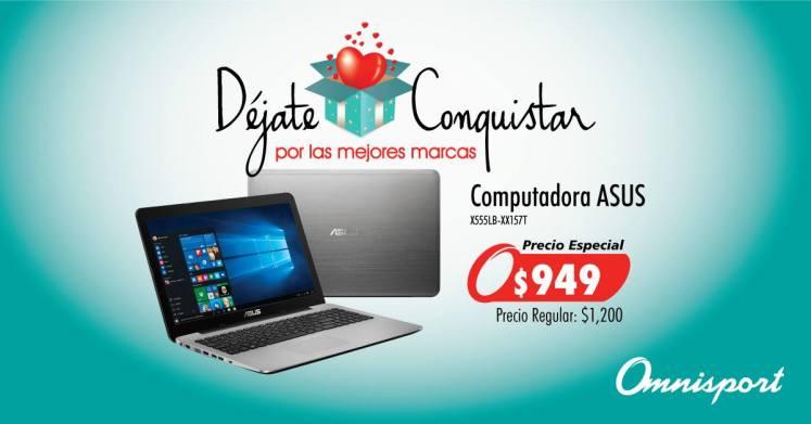 Computadora ASUS ofertas especial de san valentin 2016