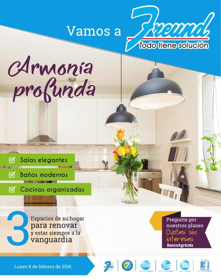 FREUND Cuadernillo de productos para acabados arquitectonicos de profunda armonia