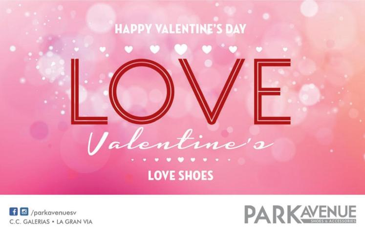 Happy Valentines DAY 2016 love park avenue shoes and accesories