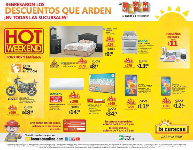 Todas las sucursales de LA CURACAO el salvador HOT DEALS - 27feb16