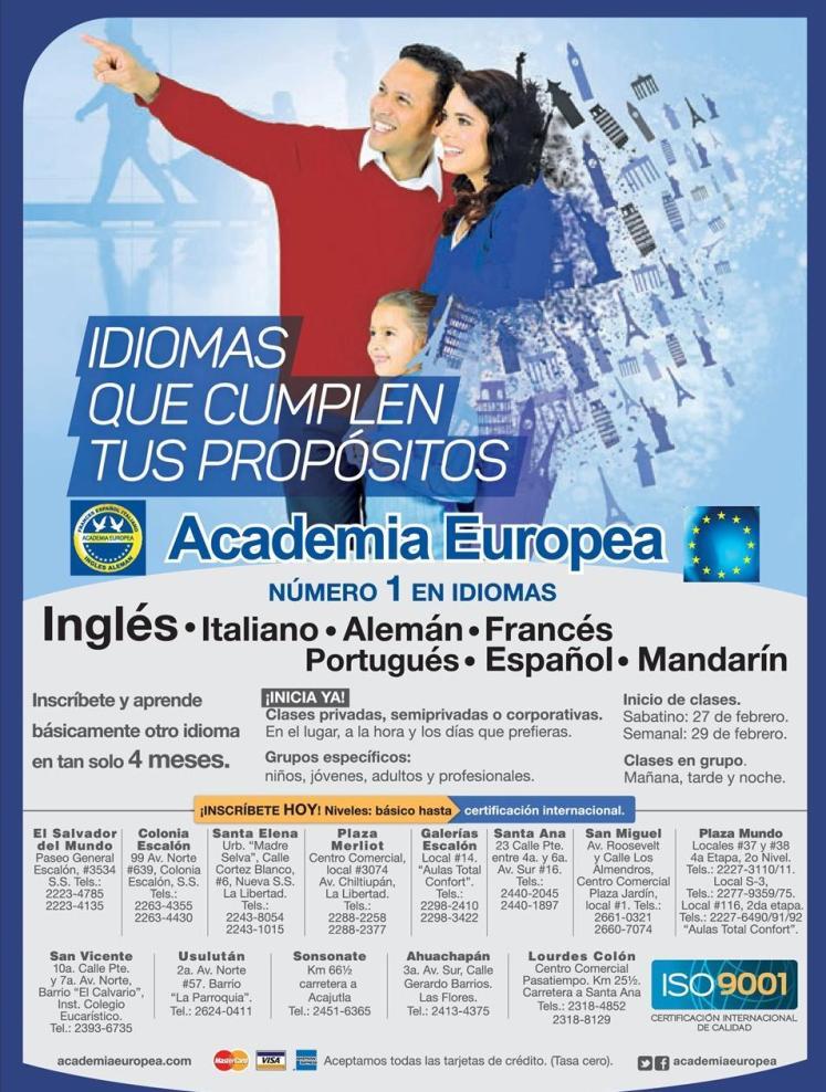varidad de Cursos y horarios para aprender un nuevo idioma