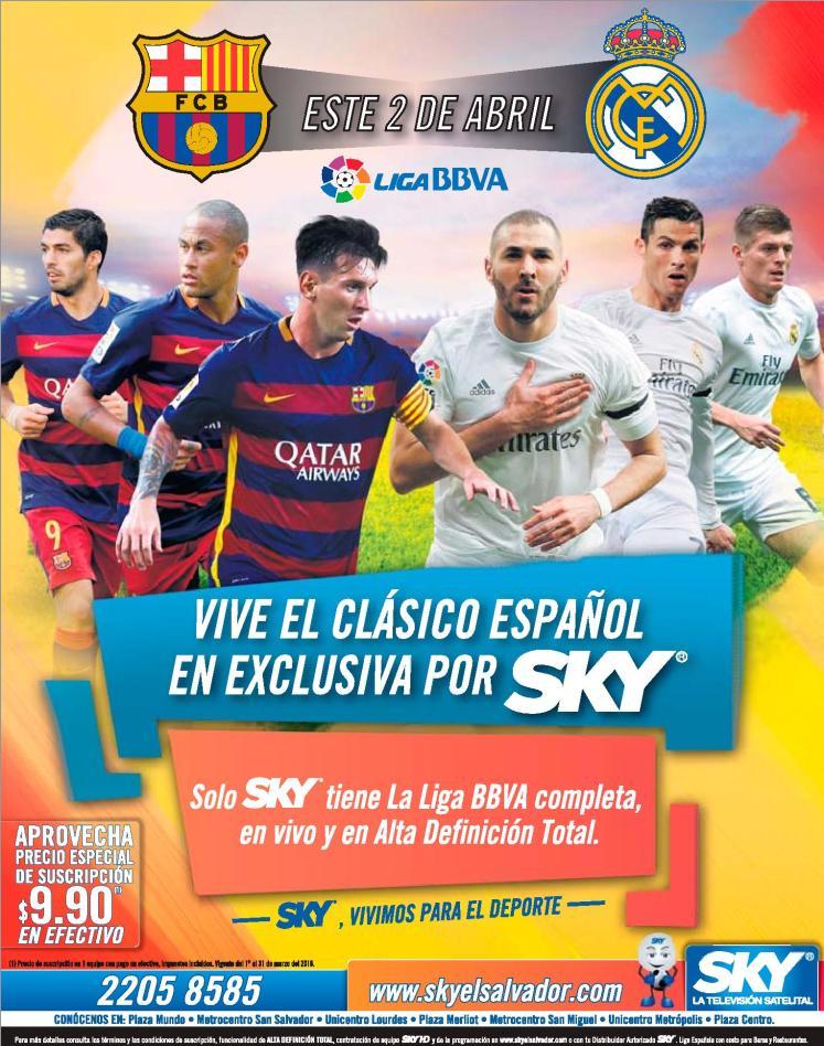 La mejor imagen en el clasico Abril 2016 barcelona vrs real madrid