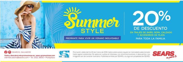 SUMMER style 2016 by SeArS el salvador