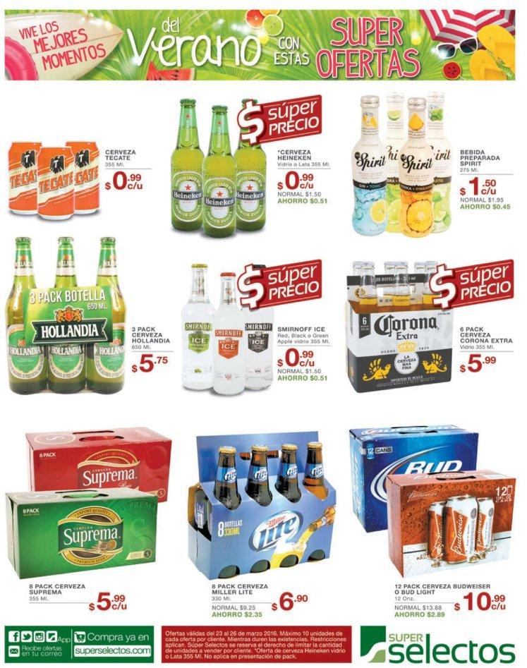 SUPER precios en cervezas nacionale se internacional - 23mar16