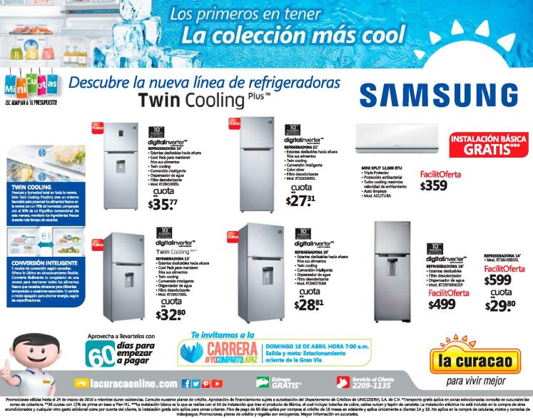 new line refrigerator SAMSUNG twin cooling