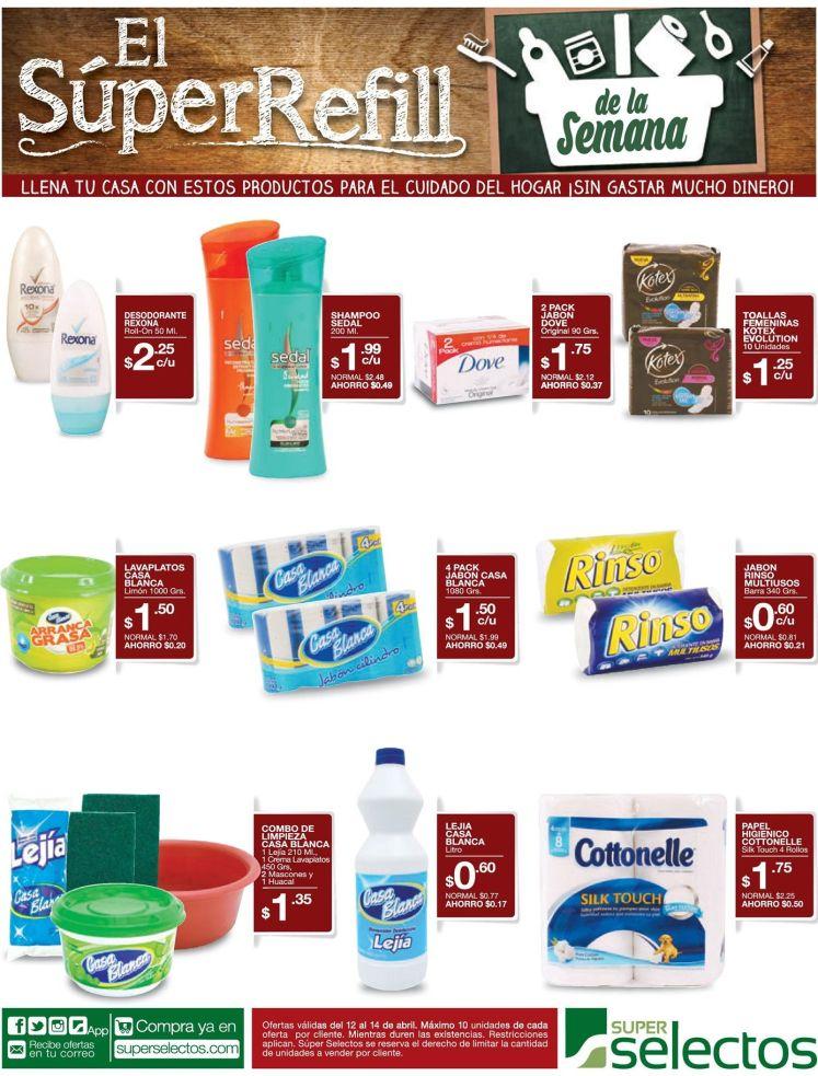 Sin excusas para limpiar tu casa super selectos promociones - 12abr16