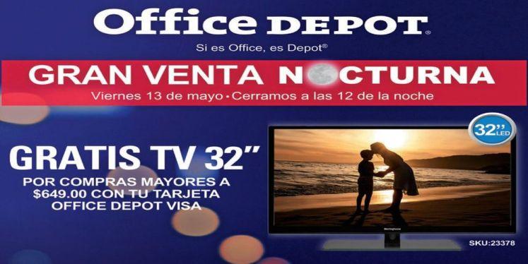 cuales son las ofertas office depot la gran venta nocturna mayo 2016