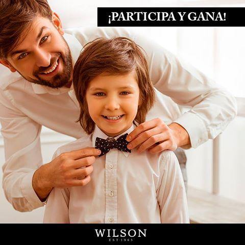 particpa y gana camisas WILSON para tu papa