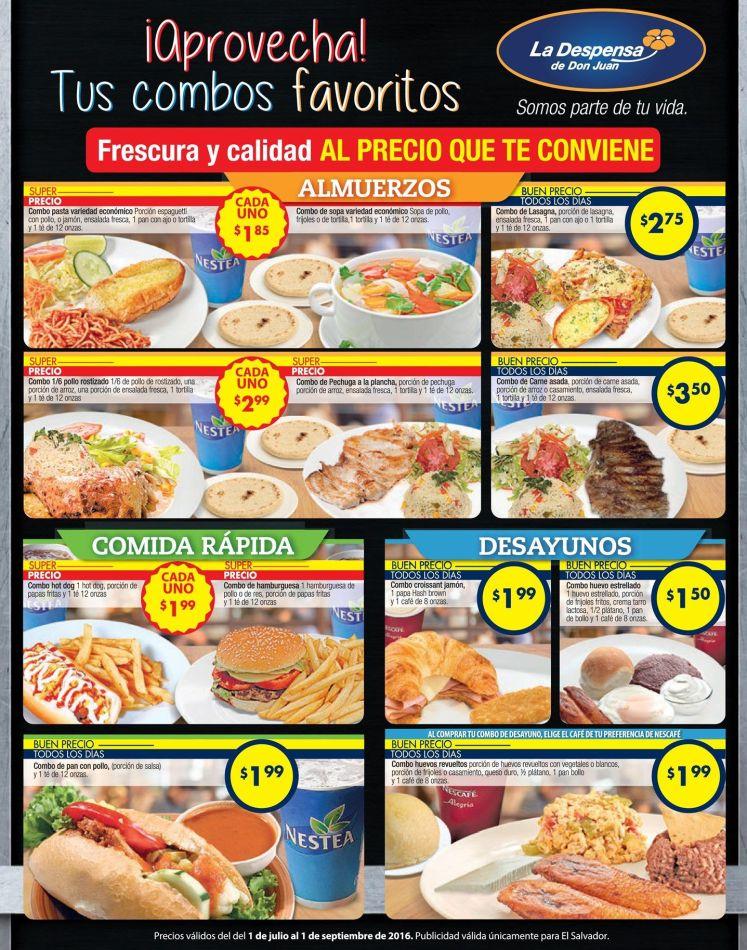 Frescura y calidad al precio mas bajo LA DESPENSA - 01jul16