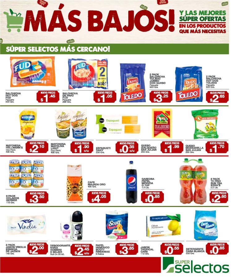 GUIA de compras y promociones selectos