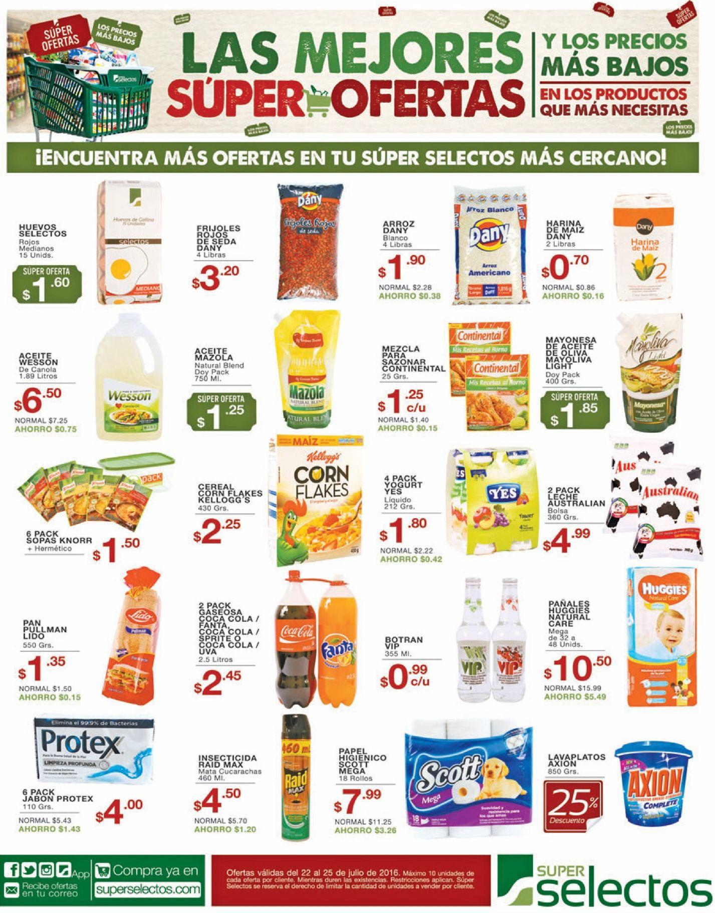 MUchos productos con promociones gracias al selectos