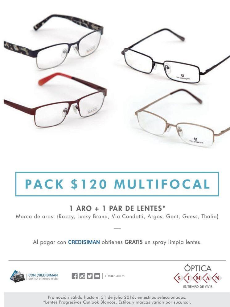 Ofertas de lentes multifocales el salvador