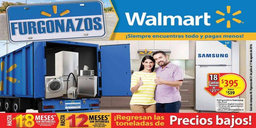FURGONAZOS WALMART guia de compras Agostinas 2016