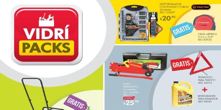 ofertas VIDRI packs JULIO 2016