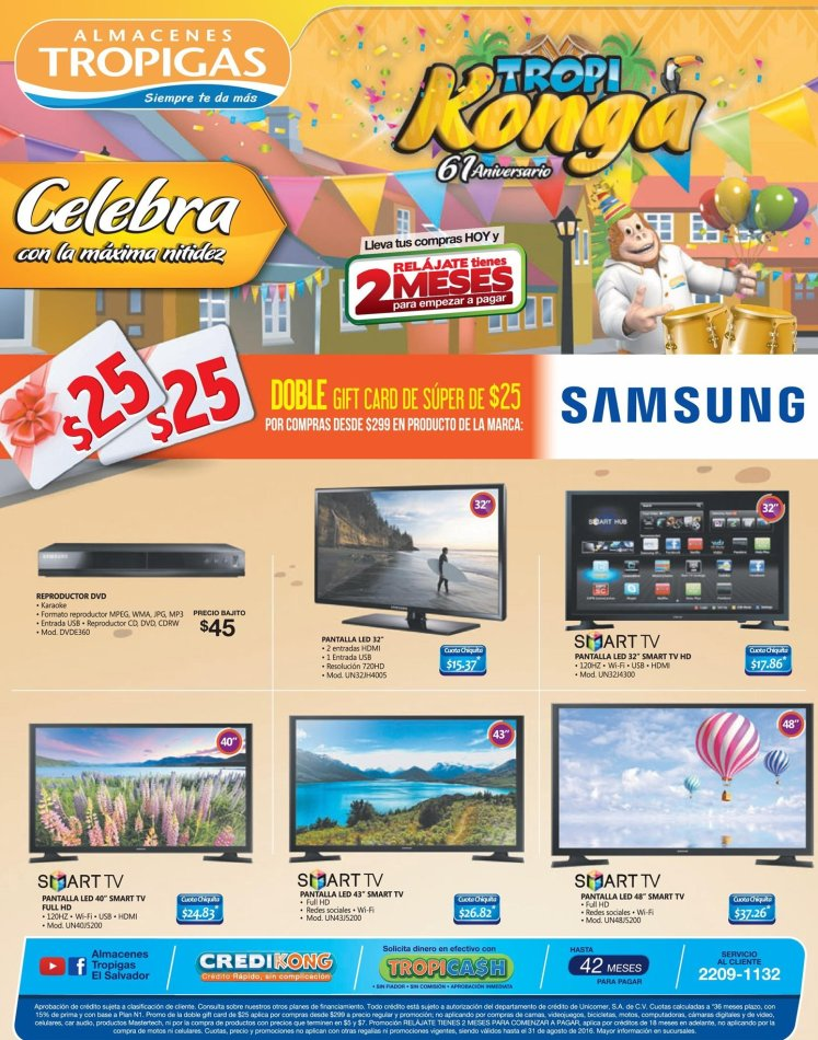 Actualiza tu televisor por un SMAR TV de pantalla LED