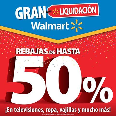 GRAN liquidacion walmart el salvador hasta 28 de agosto 2016