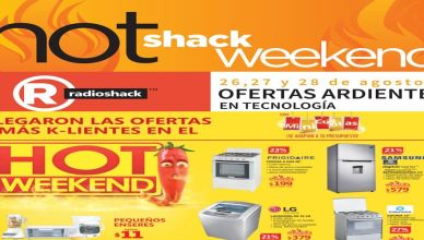 HOT weekend ofertas ardientes y calientes de fin de semana