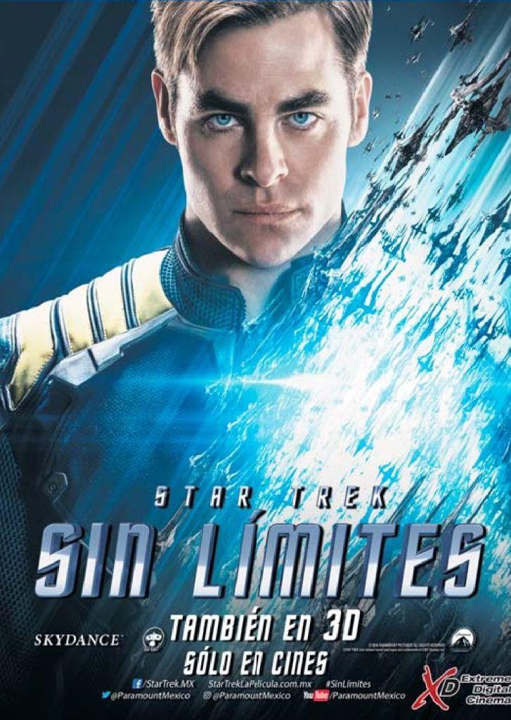 Estreno en cine START TREEK sin limites 2016 the movie
