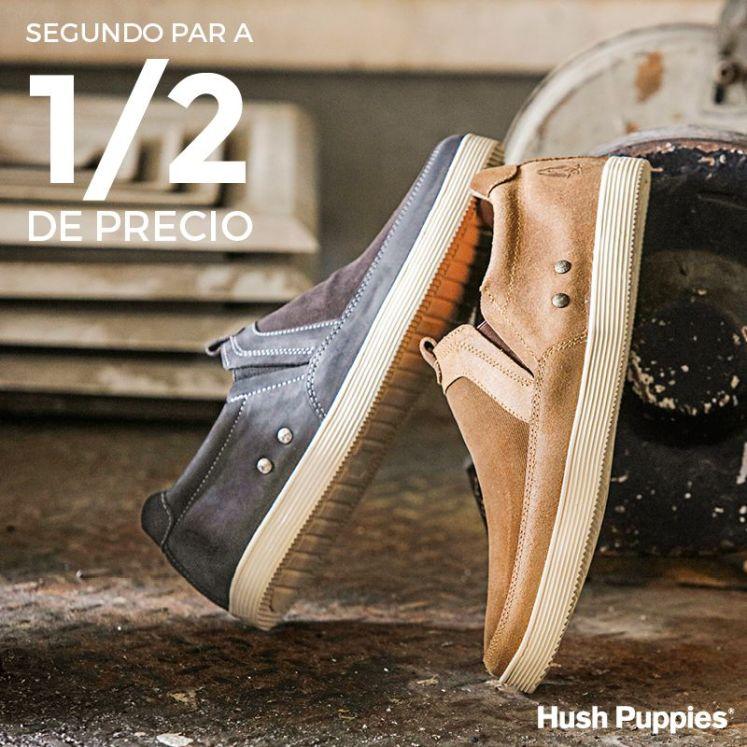 Segundo par de zapatos hush puppies a itad de precio