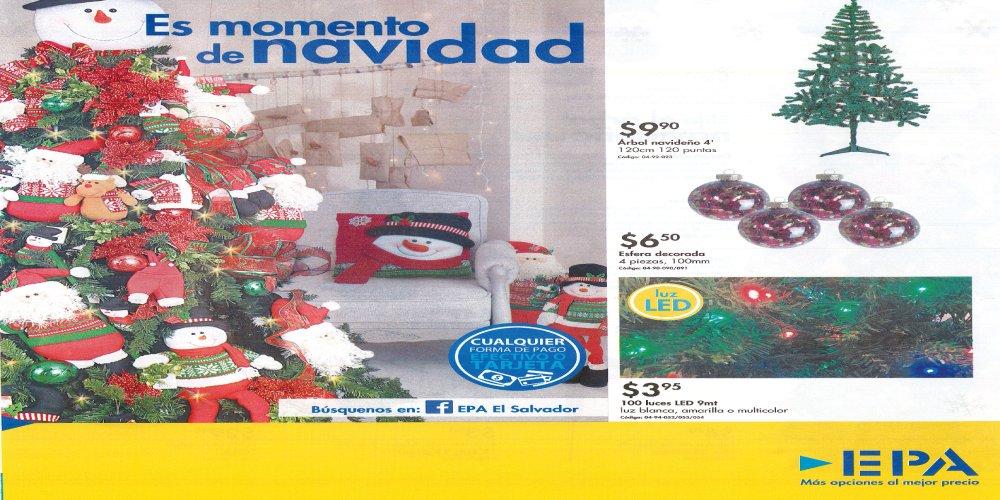 Catalogo de Productos de Navidad 2016 EPA #elsalvador