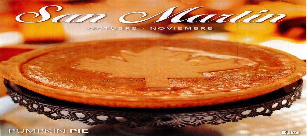 Delicias gourmet Panadería SAN MARTIN (Octubre y Noviembre 2016)