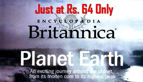 Britannica Planet Earth Encyclopaedia CDs at Just Rs.64 (Free Shipping & Cash on Delivery) discount 2