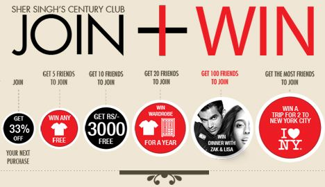 Refer Friends and Win Rs.3000 Free On SherSingh Contest contests