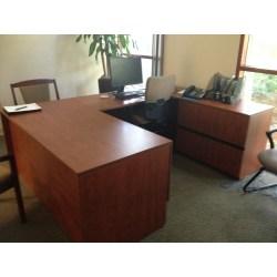 Small Crop Of U Shaped Desk