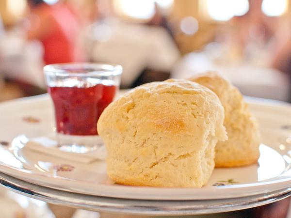 Royal Craig Hotel - high tea scones