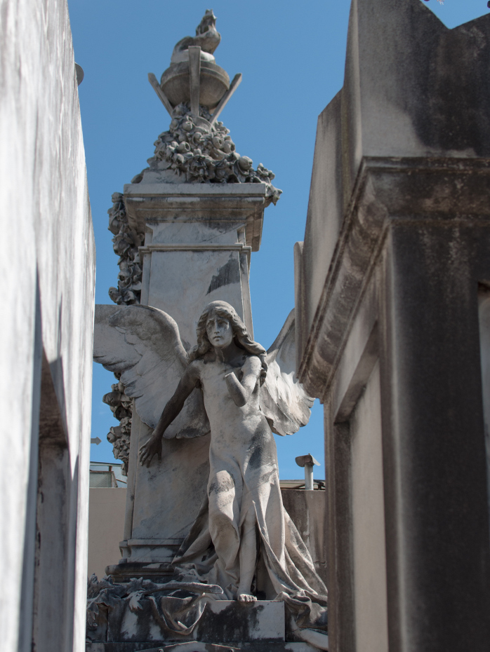 Cemetery - angel statue