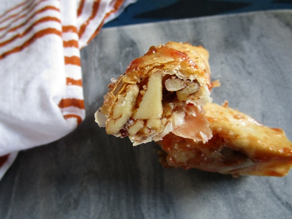 Blood Orange Baklava Cigars