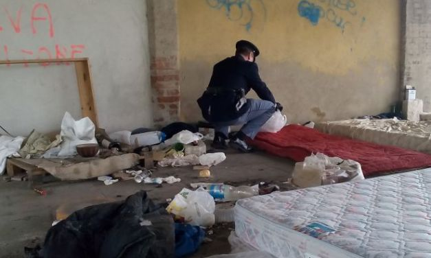 La Polfer di Tortona scopre un dormitorio abusivo vicino alla stazione