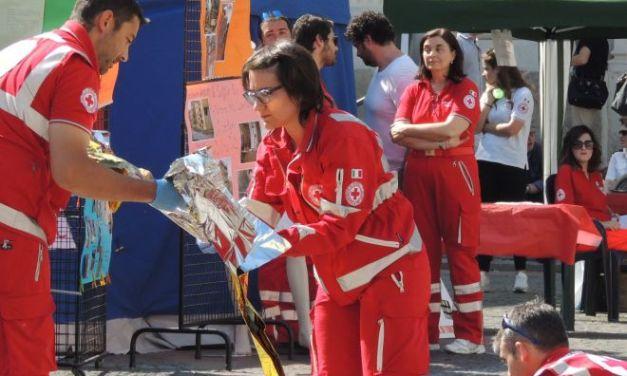 La Croce Rossa di Tortona si mobilita per il terremoto in centro Italia e raccoglie generi di prima necessità