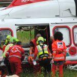 Cavatore, motociclista 40enne grave per un incidente stradale