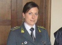 Cap. Carla D'Angelo, Comandante della Compagnia di Novi Ligure