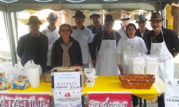 A Castelnuovo per la Senologia di Tortona raccolti 12.500 euro con le patate