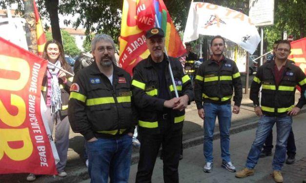 L'Usb dei Vigili del Fuoco protesta perché si utilizzano mezzi per operazioni che si potrebbero evitare