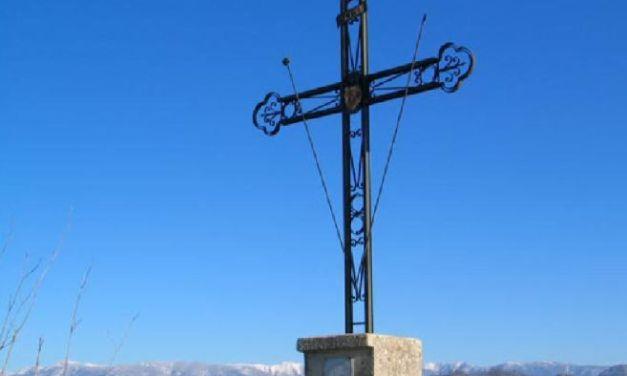 Mercoledì Arquata va in visita al pianoro della Vignasse per i 30 anni della croce