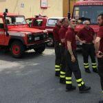 In Umbria anche i Vigili del Fuoco di Alessandria con tre mezzi e nove persone