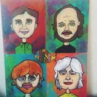 Pitchurs, Paintins, la la la