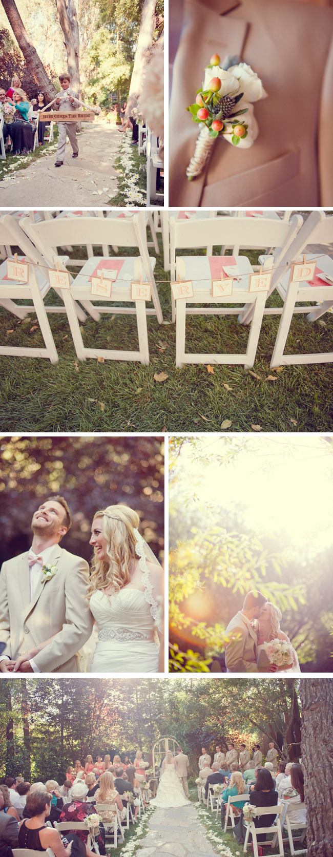 coral and peach malibu wedding | sun and sparrow photography &amp; gather events