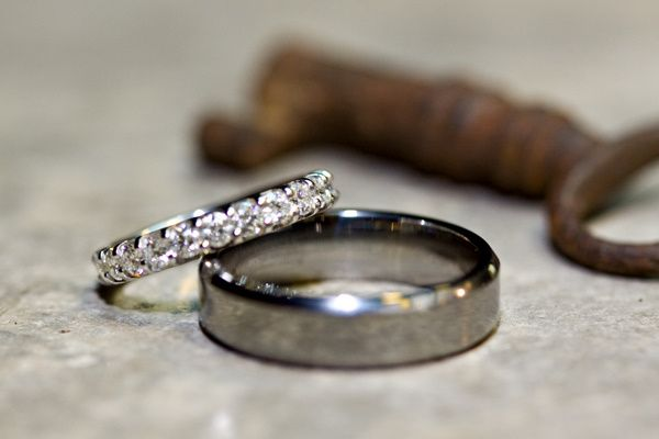 Our rings with an antique key